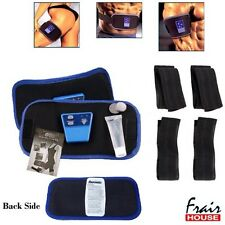 2 x ABGYMNIC BELT ABS MUSCLE TONING 6 PACK WAIST FITNESS GYM SLIMMING LOOSE