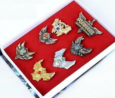 DZ477 Anime Game LOL League of Legends Badges Pins Game Badges Collection In Box