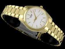 LTP-1274G-7A Japan Movt New Genuine Casio Steel Band Watches Women Date Display