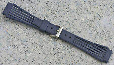 Blue 22mm Tropic band type nylon Golay Swiss 1960s/70s vintage item 12 sold here
