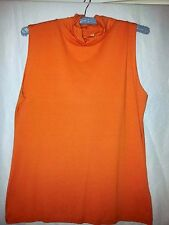 Country Road ladies top Tangerine size small XL BNWT