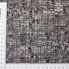 Patchwork Schwarz Weiß Streifen Ton in Ton 1,35m Breit Stoff