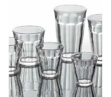 6x Duralex Picardie Gläser Trinkglas Glas temperiert 22 cl aus Frankreich