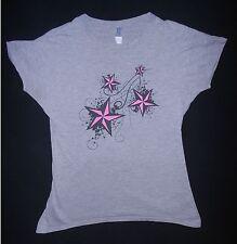 """Rockabilly """"Stars Sterne"""" pink Girly - Ladies - T-Shirt - Gr. M - aus EMP - TOP"""