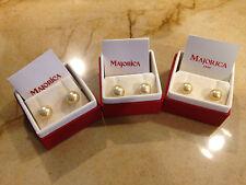 Genuine Majorica earrings