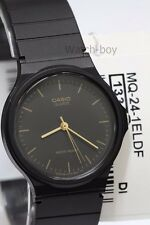 MQ-24-1E Casio Unisex Watch Black Plastic Water Resist Analog Brand-New