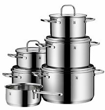 WMF 11-piece Inspiration 18/10 Stainless Steel Cookware Set