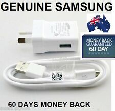 Genuine Samsung Galaxy S4 S5 Wall Charger 2A + USB Cable S2 S3 i9300 Note 2/3
