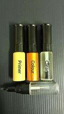 HONDA TOUCH UP PAINT KIT 3 BOTTLES BRUSH AND PEN MADE TO YOUR COLOUR CODE