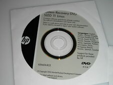 HP 625 System Recovery DVD SLED 11 Linux 626604-B23 User Guides 601874-B21