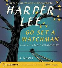Go Set A Watchman by Harper Lee (CD-Audio, 2015) Read by Reese Witherspoon