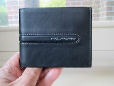 Piquadro Freeway black leather wallet PU1307FW/NG