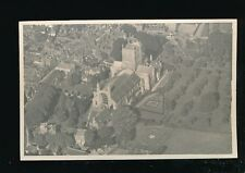 Gloucestershire Glos TEWKESBURY Abbey Aerial view RP PPC c1950s?
