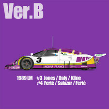 Model Factory HIRO 1/12 Scale Full Detail Kit Jaguar XJR-9 Le Mans 1989 NEW!