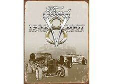 NEW Ford Deuce 75th Anniversary tin metal sign