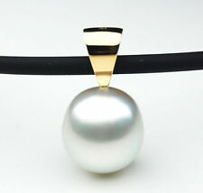 $1,599 Pacific Pearls® 13.5 mm Australian White South Sea Pearl Pendant