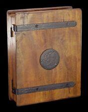 Mittelalterlicher Holz Schlüsselkasten - Schlüsselbrett Schlüsselboard Haken