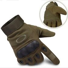 Military Full Finger Gloves Mens Cycling Outdoor Sports Cycling Hiking Mittens L