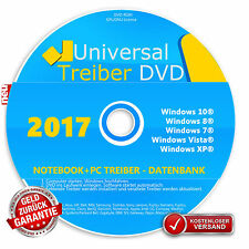 Universal Treiber Sammlung CD DVD  Windows  10-8-7-Vista-XP  32 & 64Bit
