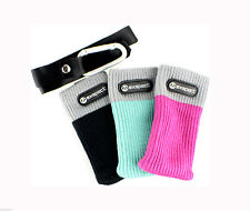 3 x Protective Socks Mobile Phone Compact Digital Camera iPod MP3 Pink Black New