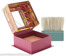 Benefit HOOLA Bronzing Powder 4g TRAVEL SIZE Bronzer Compact With Mirror & Brush