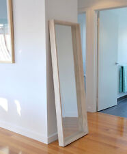 Large Modern Mirror, Scandi Style Wood Wall Mirror, 170cm x 60cm