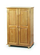 Pickwick Childs Small Bedroom Wardrobe Solid Pine Short Low Robe New