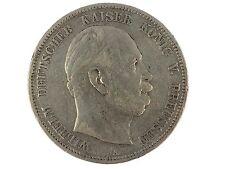 Kaiserreich 5 Mark Silber 1876 A Wilhelm I. Deutscher Kaiser König von Preußen