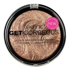 Brand New -Technic Get Gorgeous Bronze Highlighter Compact Powder 12g