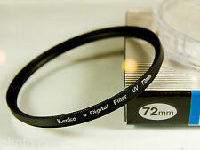 Kenko 72mm UV Digital Filter Lens Protection for 72mm filter thread - UK Stock