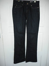 """Womens STRETCH JAG JEANS SIZE 8 """"MID RISE, REG FIT, BOOT CUT"""""""