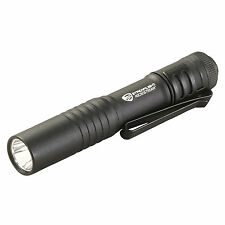 Streamlight 66318 MicroStream LED Pen Flashlight with Hat Clip and Lanyard