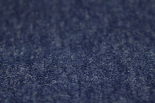 Plain Mid Airforce Blue Angora Knit Dress Fabric Material