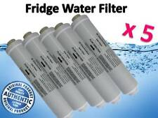 5 x GENUINE WESTINGHOUSE ELECTROLUX REFRIGERATOR WATER FILTER PART # 1450970