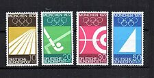 BRD 1969 Motive Nr. 587 - 590 ** Olympische Spiele - postfrisch