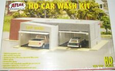 ATLAS HO KIT Car Wash Building KIT HO Scale (1:87) ATL764