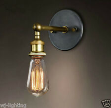 Metal Wall Ceiling Vintage Retro Chandelier Fitting Edison Pendant Lamp Light