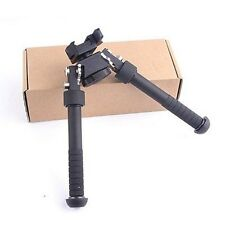 "New Style 4.75""-9"" QD Extendable Foldable Rifle Bipod w/Picatinny RIS Rail Mount"