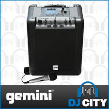 Gemini MS-USB Portable Battery Operated PA System with USB Media Player - BNI...