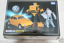 Takasa Transformers Masterpiece C MP-21 Volkswagen Beetle Bumblebee Spike