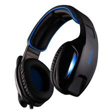 SADES SA-902 PC Virtual 7.1 Surround Gaming Headset - Blue