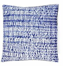 "Tie Dye Shibori Kantha Quilted Cotton Cushion Cover 16"" Sofa Indian Pillow Cover"