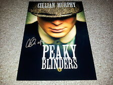 """PEAKY BLINDERS PP CAST SIGNED 12""""X8"""" A4 PHOTO POSTER CILLIAN MURPHY"""