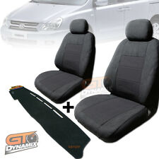 KIA Grand Carnival Seat Covers 3ROWs + Dash Mat Package Deal 01/2006-2015 VQ EX