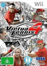 Virtua Tennis 4 Nintendo Wii Brand New