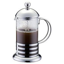 350ml / 3-cup Stainless Steel Glass Cafetiere French Filter Coffee Press Plunger