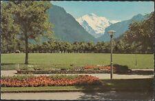 040 /  AK  Ansichtskarte  Interlaken  Höheweg mit Jungfrau  Schweiz