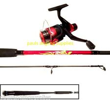 Shakespeare Firebird 7ft  Spin Spinning Fishing Rod with Reel and line