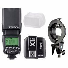 Godox TT685S TTL HSS Blitzgerät Flash + X1T-S Trigger + Bowens Bracket für Sony