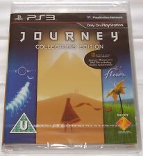 JOURNEY COLLECTOR'S EDITION FOR PS3; NEW & SEALED